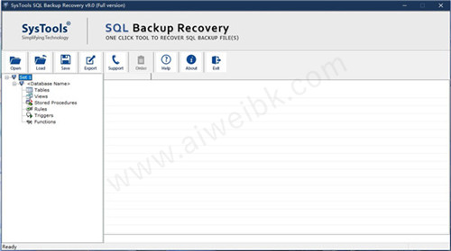 SysTools SQL Backup Recovery破解版